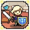 【今日プレイしたゲーム】ドット絵の騎士に色んなスキルの武器を操らせバトル!『騎士とドラゴン』